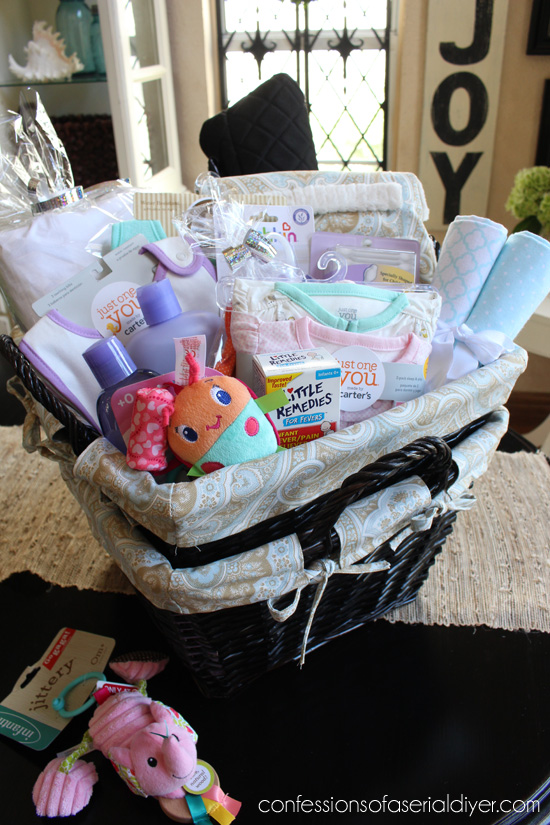 Things For A Baby Shower Hamper Baby Shower Ideas