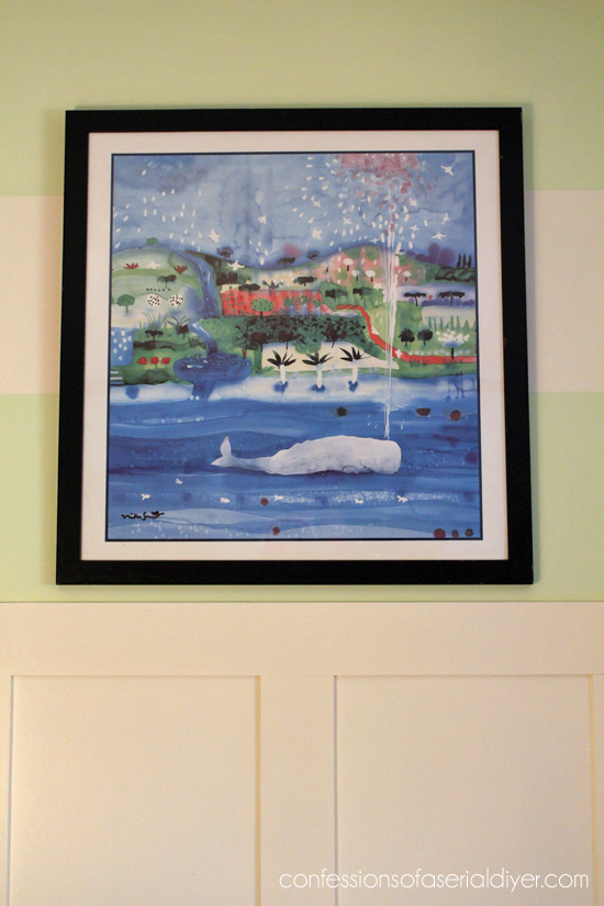 Whale print