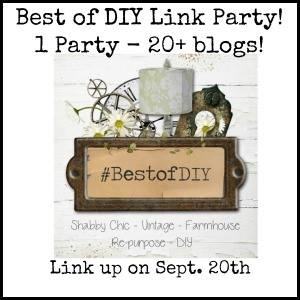 BEST of DIY Link Party + a Few of my Favorite DIYs!