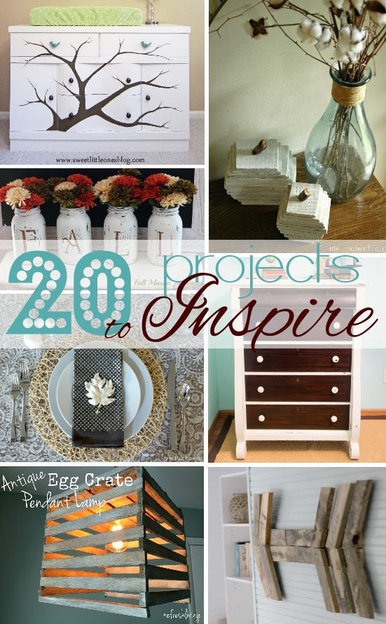20 Projects to Inspire/ Get Your DIY On Features