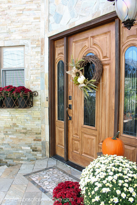 Fall Front Porch and Wreath Turorial