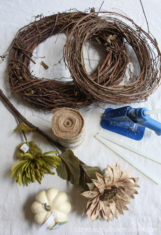 What you'll need for a fall wreath