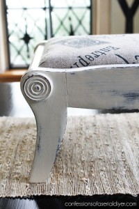 Antique Mini-Bench Makeover