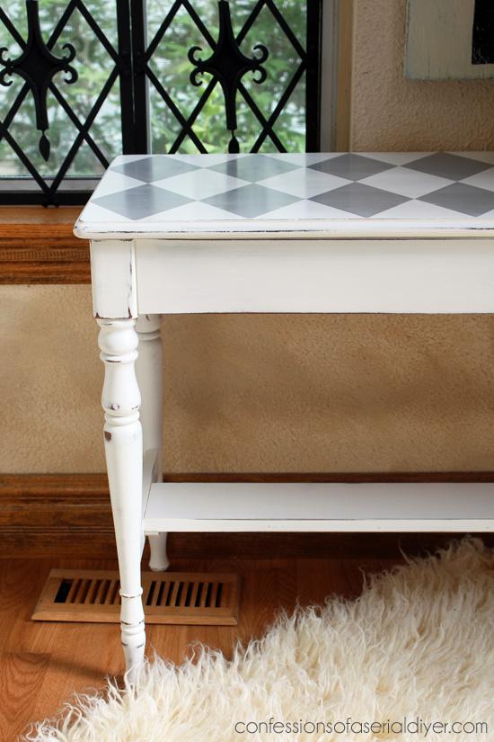 Pure white and Paris Grey Decorative Chalk Paint® by Annie Sloan