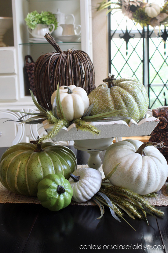 Thrifty Fall Centerpiece