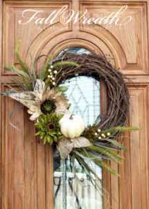 Neutral Fall Wreath from confessionsofaserialdiyer.com