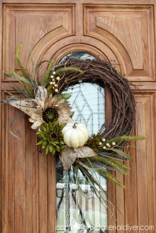 New Fall Wreath Tutorial