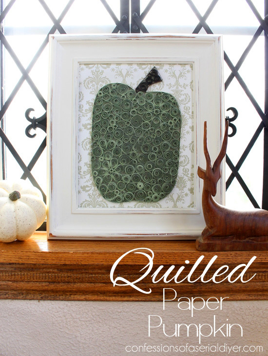 Quilled Paper Pumpkin Tutorial