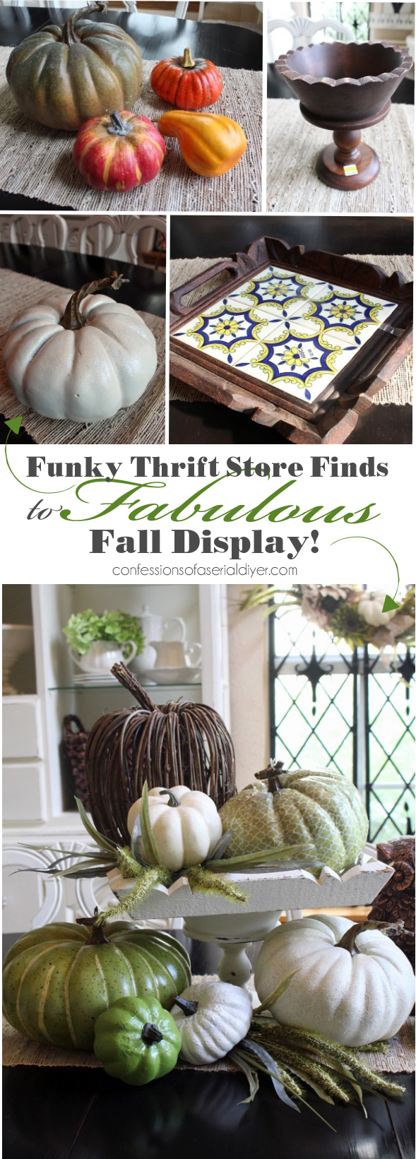 Thrifty Fall Decor  Confessions of a Serial DoitYourselfer