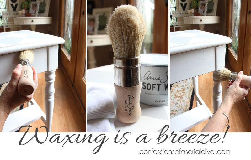Wax brush by Annie Sloan
