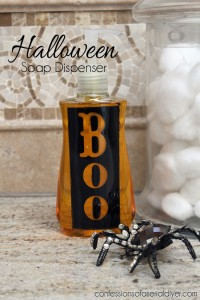 Simple Halloween Soap Dispenser