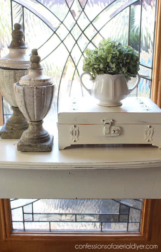 Clawfoot Console Table