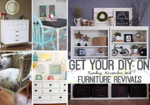 Get Your DIY On November: Furniture Revivals