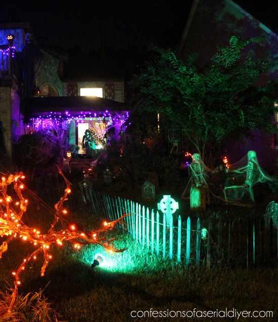 Outdoor Halloween Decor