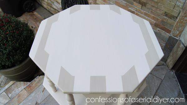Nautical Compass Table
