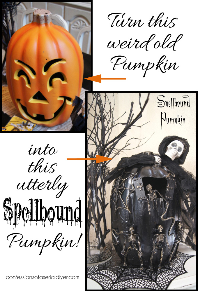 Transform a ho-hum pumpkin into something spellbinding!