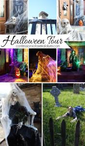 Spooky Outdoor Halloween Tour {2014}