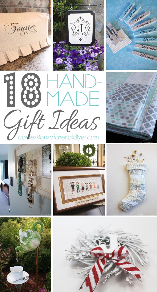 Hand-Made GIft Ideas that Anyone Can Make!