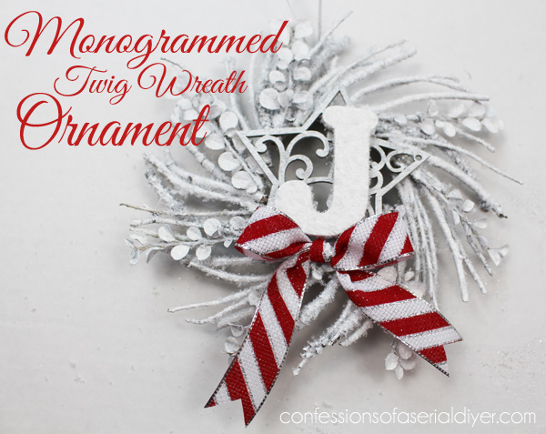 Monogrammed-Twig-Wreath-Ornament