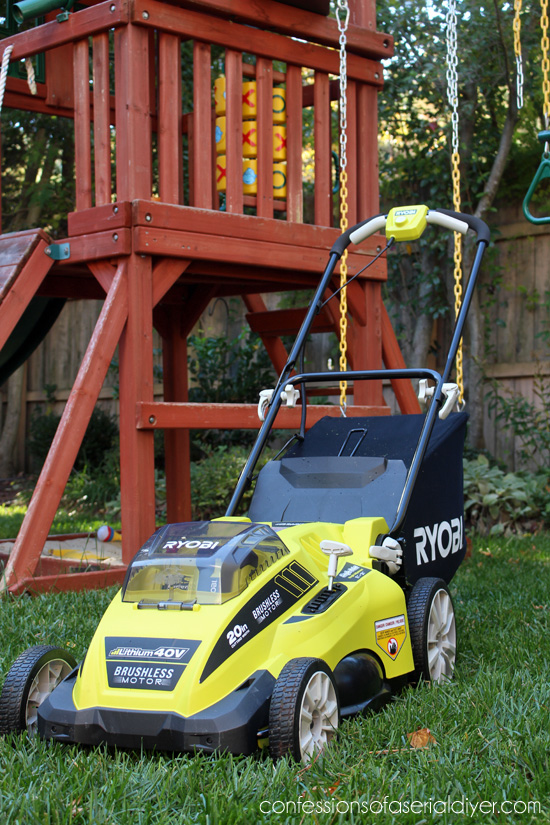 RYOBI Battery-Operated Lawn Mower