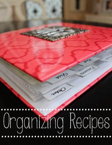 Organizing Recipes