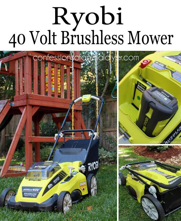 Ryobi 40 Volt Brushless Mower