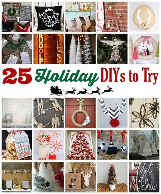 25 Holiday DIYs
