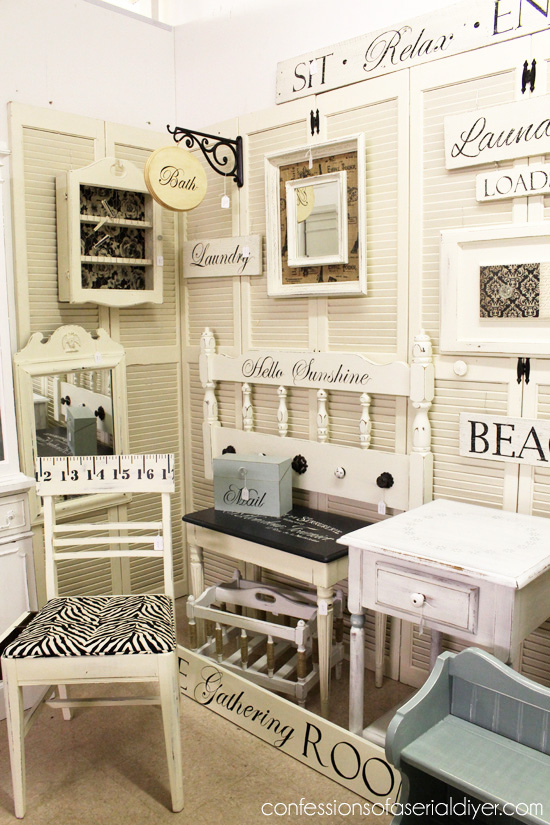 My Booth Space {Virginia Beach Antique Mall}