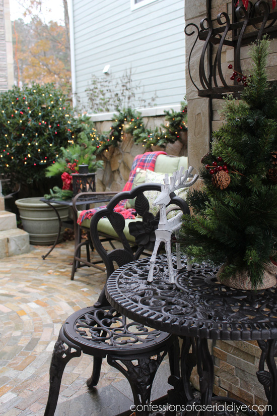 Christmas Courtyard