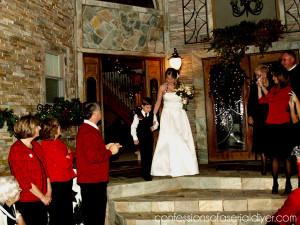 Christmas Courtyard Wedding