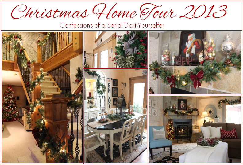 Christmas Home Tour 2014 Confessions Of A Serial Do It