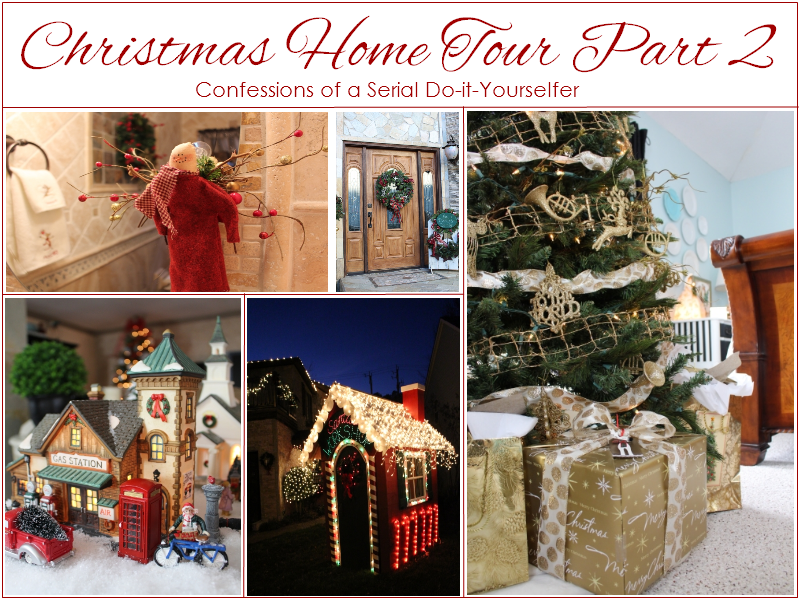 Christmas Home Tour 2013 Part 2 Confessions of a Serial Do-it-Yourselfer