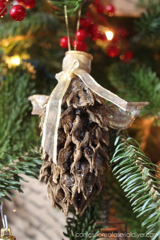Magnolia Pod Ornament