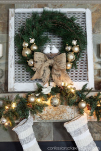 Super Simple Christmas Wreath