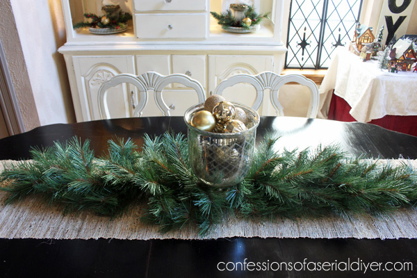 Holiday Dining Table Centerpiece Confessions Of A Serial