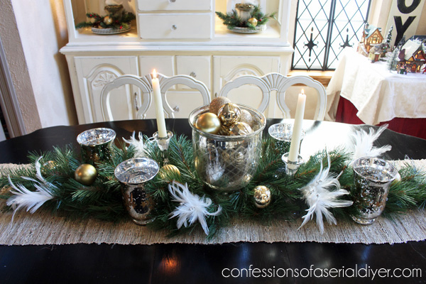 Holiday Dining Table Centerpiece Confessions Of A Serial Do It Yourselfer