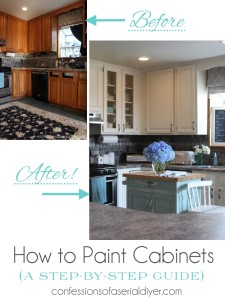 How to Paint Kitchen Cabinets Step-by-Step