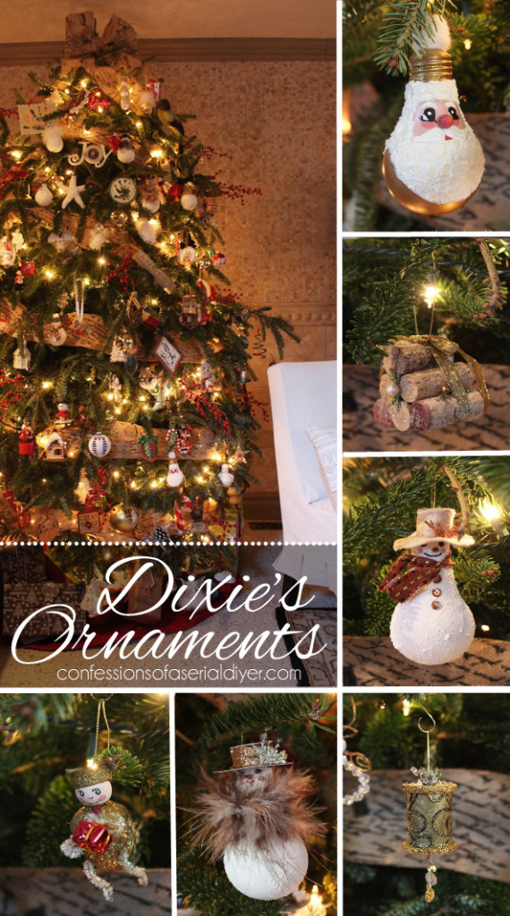 My Tree and Dixie's Ornaments