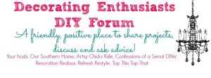 Decorating Enthusiasts DIY Forum on Facebook