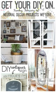 Get Your DIY On February 2015: Neutral Decor Projects We Love