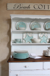 Farmhouse Hutch Makeover