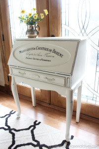 French Secretary Desk from confessionsofaserialdiyer.com