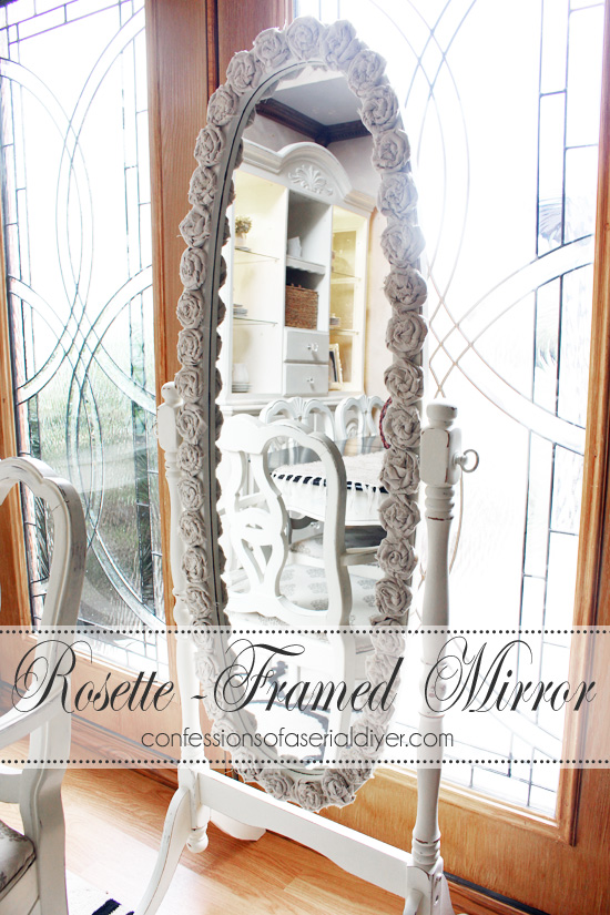 Rosette-Framed-Mirror