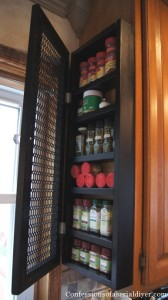 Diy Spice Cabinet