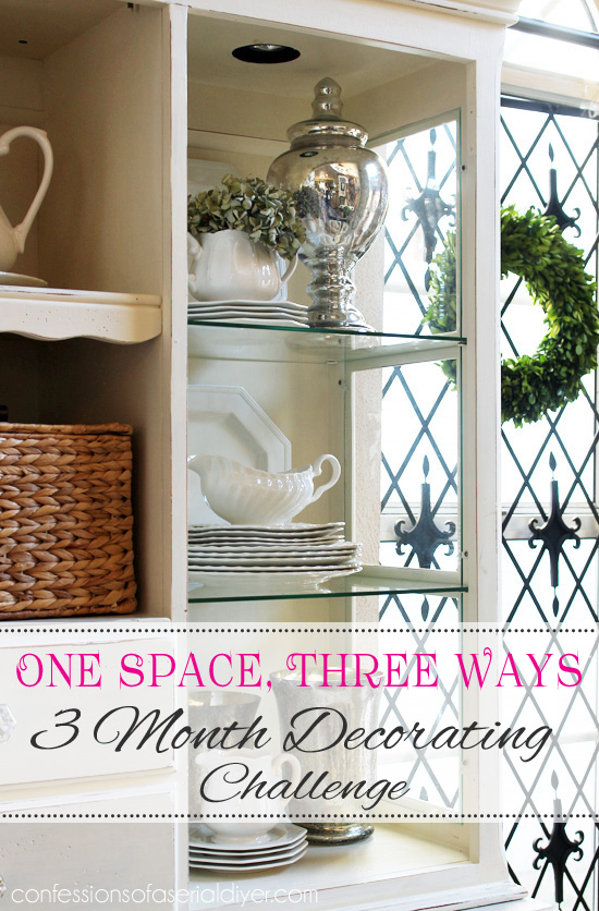 Three Month Decorating Challenge: Shopping Your Home