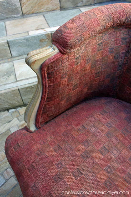 How I upholstered my French Provinical chairs!