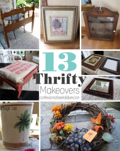 13 Thrifty Makeovers from Confessions of a Serial Do-it-Yourselfer