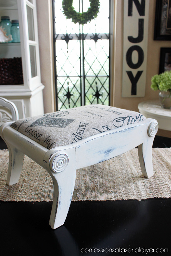 Antique Bench Makeover