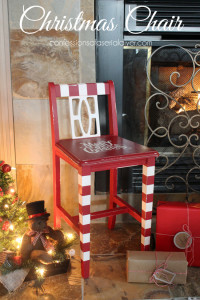Christmas Chair/ Confessions of a Serial Do-it-Yourselfer