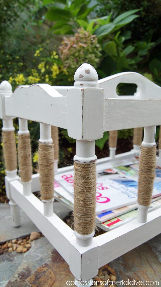 Coastal Magazine Rack